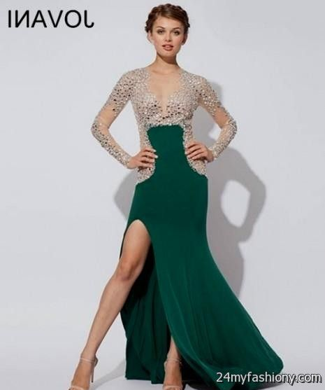 2017 Jovani Long Prom Dresses