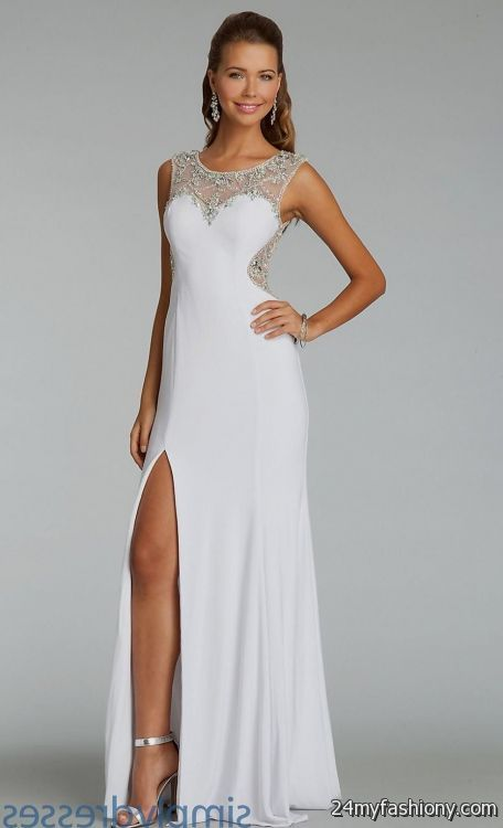 Jovani White Prom Dresses - Discount Evening Dresses