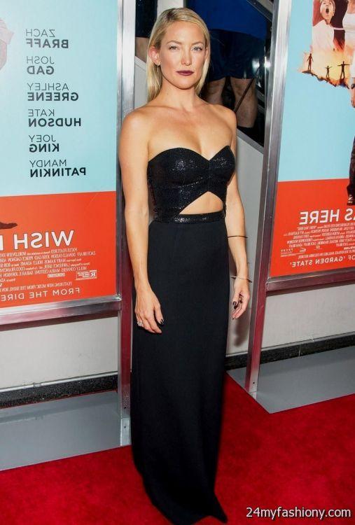 kate hudson black dress looks | B2B Fashion