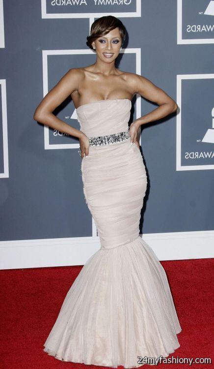 Keri Hilson Red Carpet Dresses Looks B2b Fashion