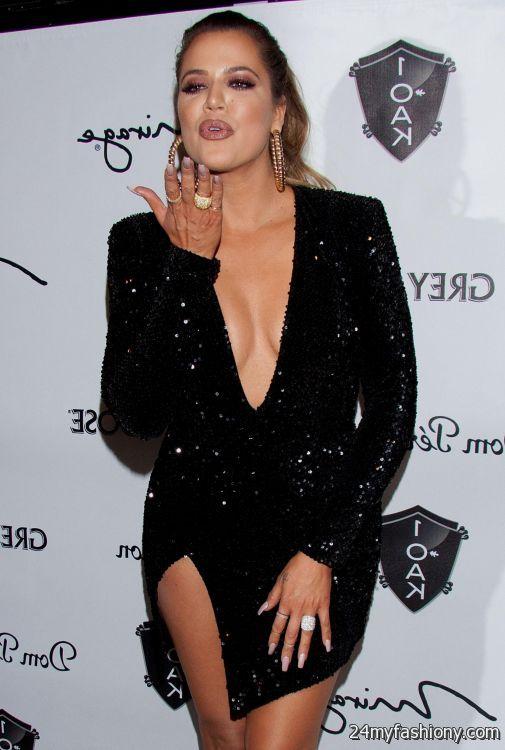 Khloe kardashian black dress 2016 2017 b2b fashion for How to dress like khloe kardashian