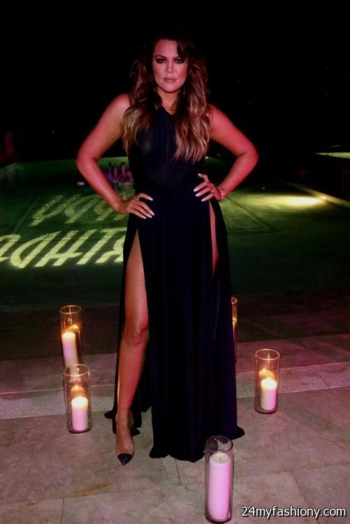 Khloe Kardashian Black Dress Looks B2b Fashion
