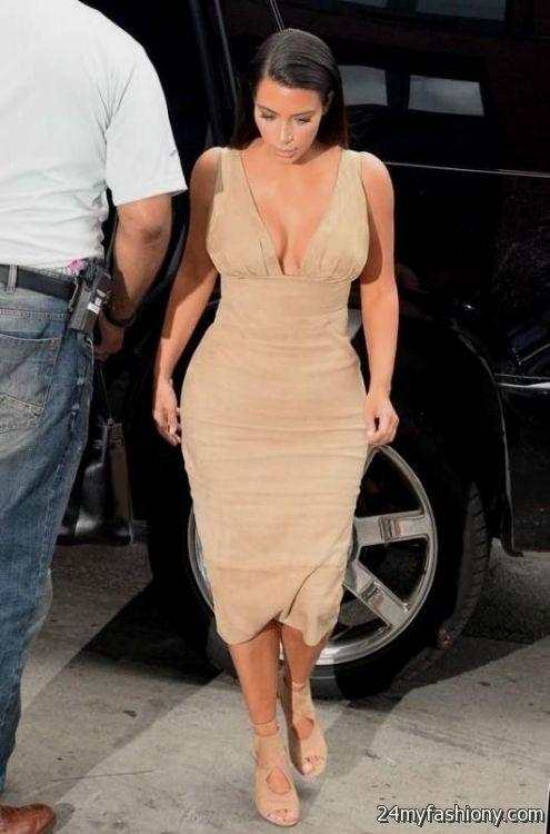 Kim Kardashian Evening Dress 2017 Discount Evening Dresses