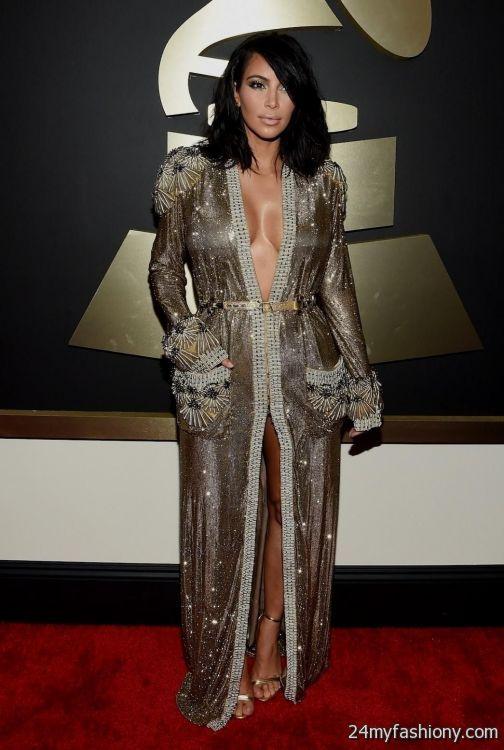 Kim Kardashian's 2015 Met Gala Dress Is Almost The Same As ...  |Kim Kardashian Red Carpet Dresses