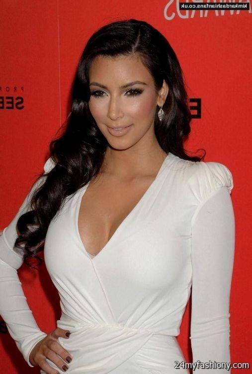 Kardashian dresses kim in white
