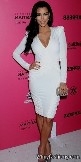kim kardashian white dresses 20172018 187 b2b fashion