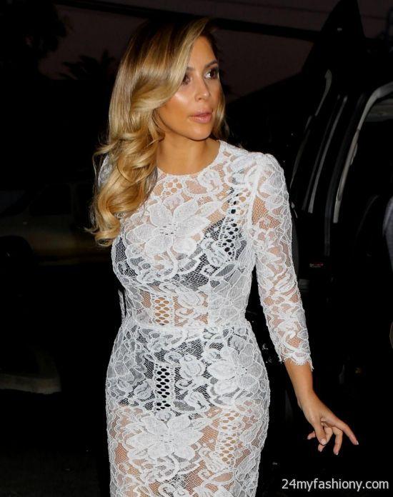 Kim Kardashian Red Carpet Dress Images