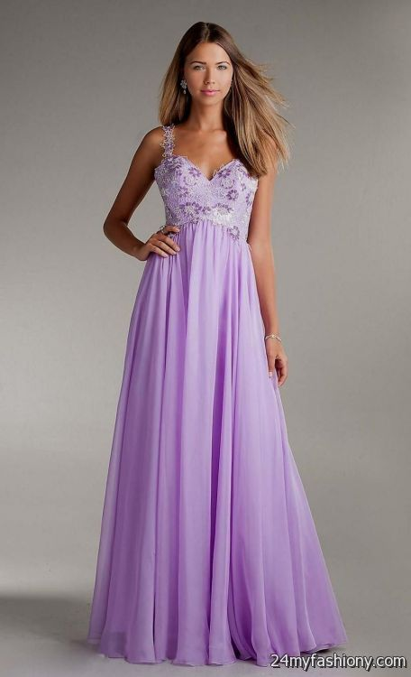 lavender chiffon prom dress 2016-2017 » B2B Fashion