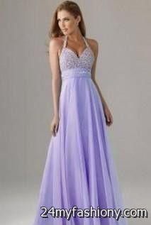Lavender Staples's Chiffon Dress