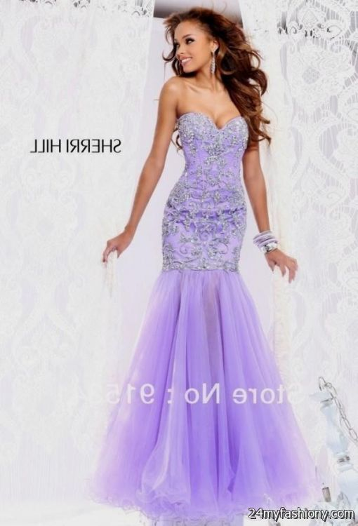 lavender prom dress mermaid 2016-2017 | B2B Fashion
