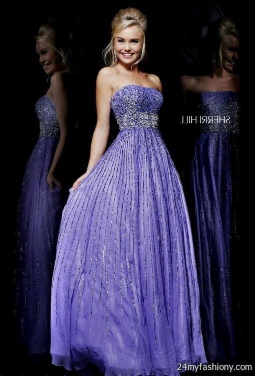lavender prom dress sherri hill looks | B2B Fashion