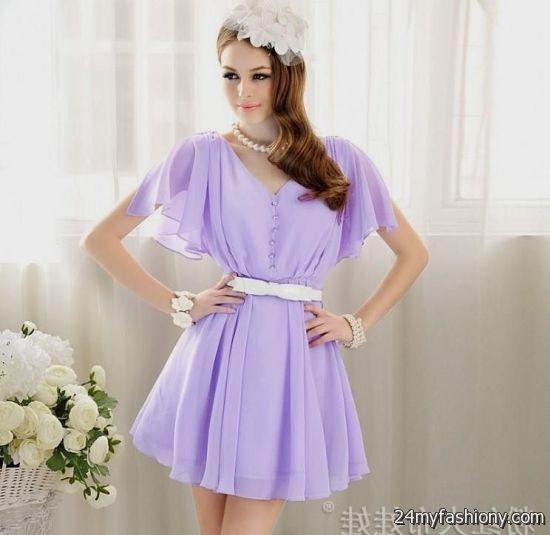 lavender summer dresses 2016-2017 » B2B Fashion