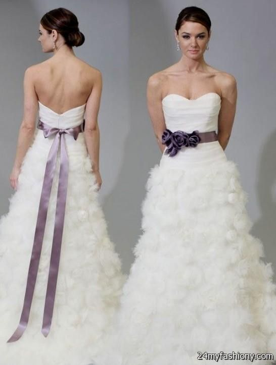 Lavender Wedding Dress 2016 2017
