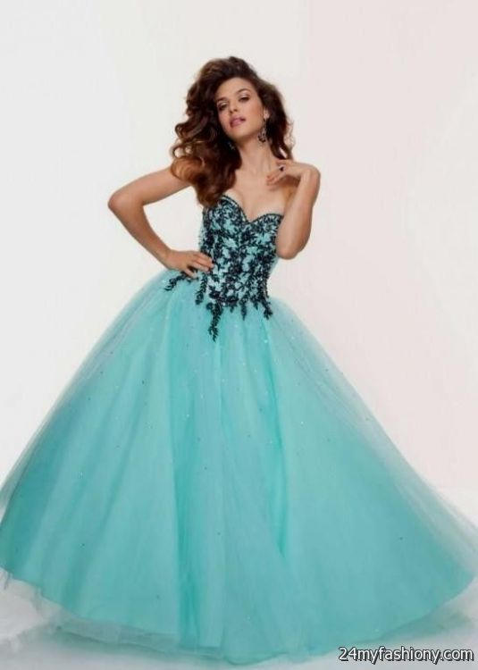 light blue and black prom dress 2016-2017 » B2B Fashion