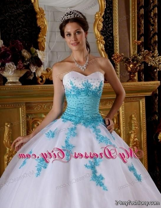 light blue and white sweet 16 dresses 2016-2017 » B2B Fashion