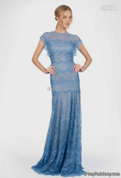 light blue bridesmaid dresses with long sleeves 2016-2017 ...