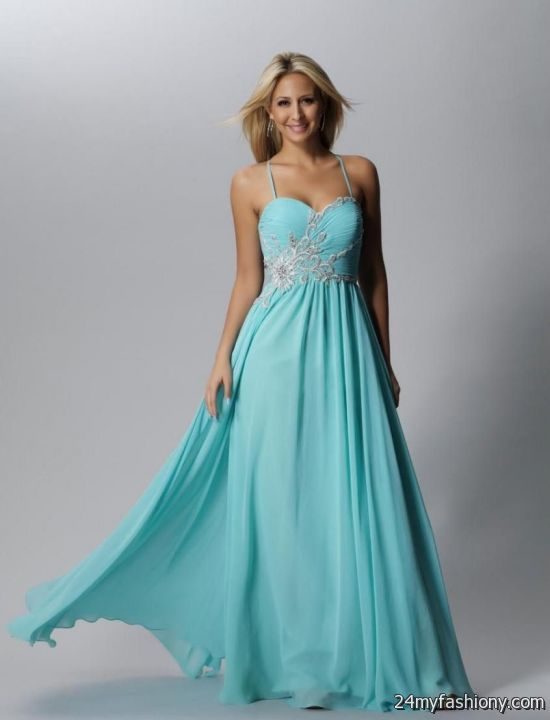 Collection Prom Dresses Light Blue Pictures - Reikian
