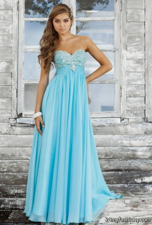 Blue Prom Dresses 2016 Under 100 - Long Dresses Online