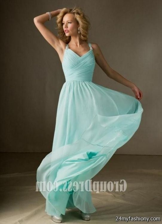 Light Blue Prom Dresses With Straps Looks B2b Fashion