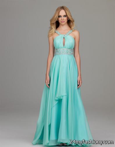 light blue prom dresses with straps 2016-2017 | B2B Fashion