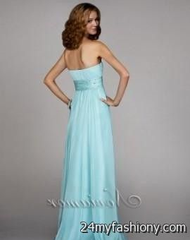 light blue strapless prom dresses 2016-2017 | B2B Fashion