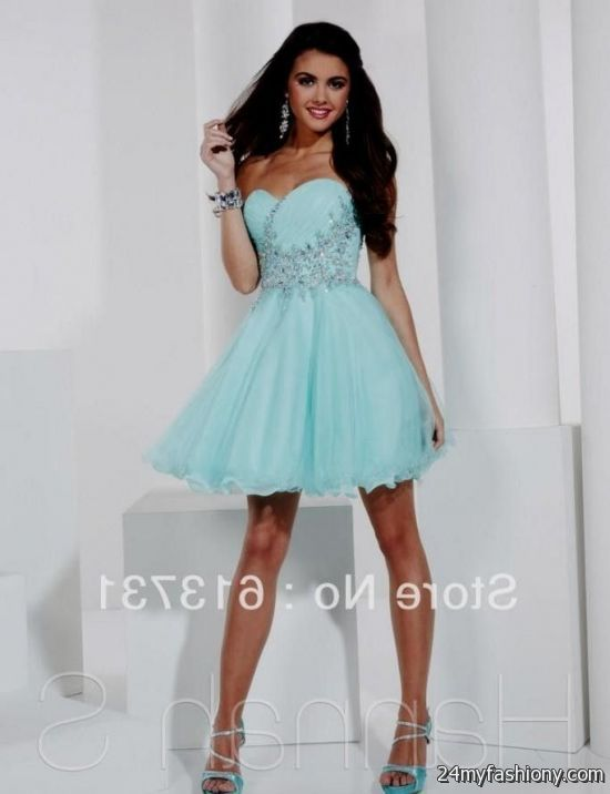 Baby Blue Winter Formal Dresses - Missy Dress