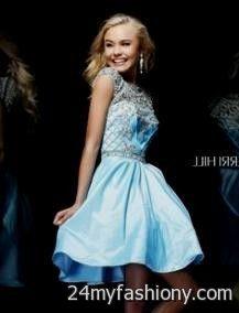 light blue winter formal dresses 2016-2017 » B2B Fashion