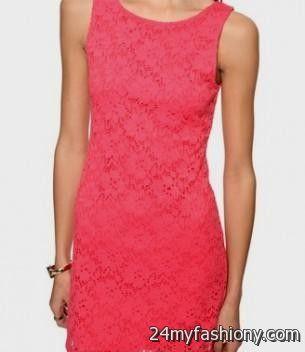light coral lace dress 20162017 b2b fashion