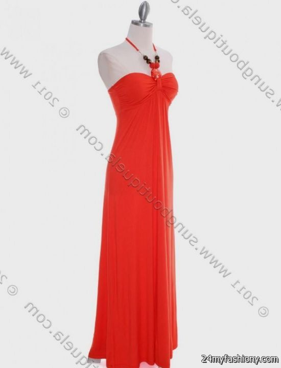 You can share these light coral maxi dress on Facebook 7f7f12a7b