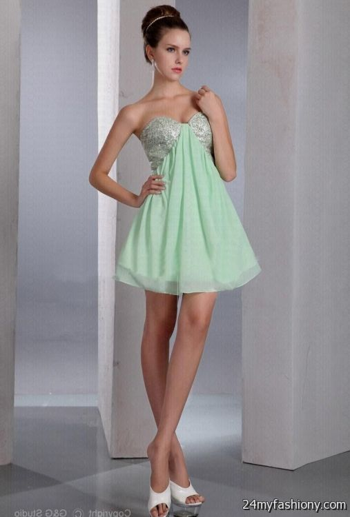 eea49570565 light green cocktail dresses looks