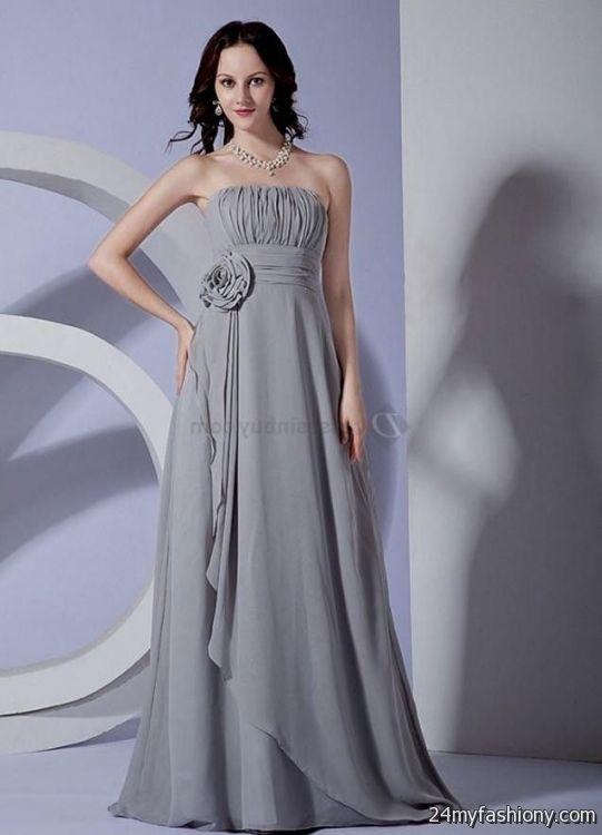 light grey chiffon bridesmaid dresses 20162017 b2b fashion