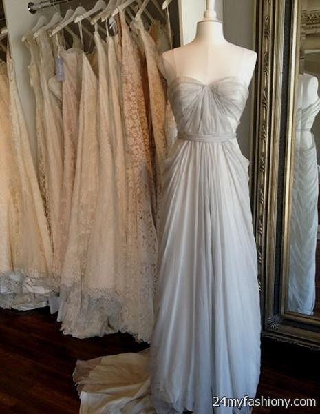 light grey wedding dress 20162017 b2b fashion