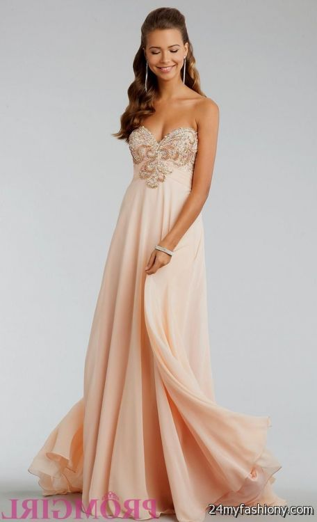 Light Orange Prom Dress - Gown And Dress Gallery