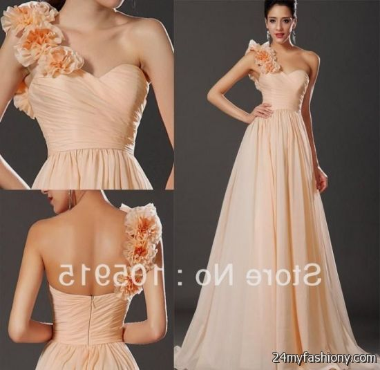 light orange wedding dress 2016 2017 b2b fashion