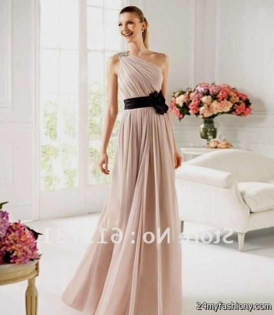 Black Pink Wedding Dresses Light Pink And Black Bridesmaid Dresses 2016 2017 B2B Fashion