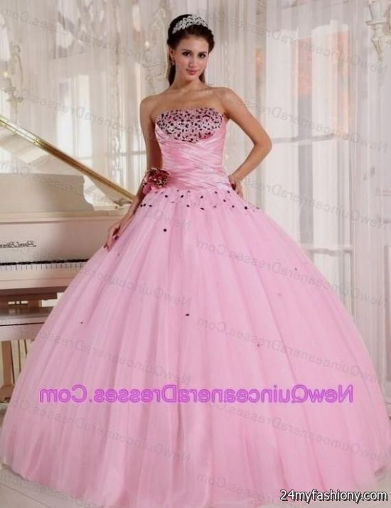 light pink and black quinceanera dresses 20162017 b2b