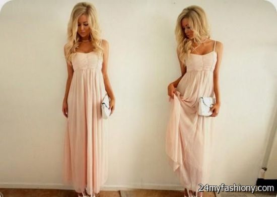 Collection Light Pink Maxi Dress Pictures - Reikian