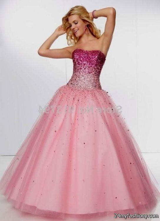 Light Pink Ball Gown light pink princess ba...
