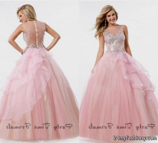 light pink princess ball gown 2016-2017 » B2B Fashion
