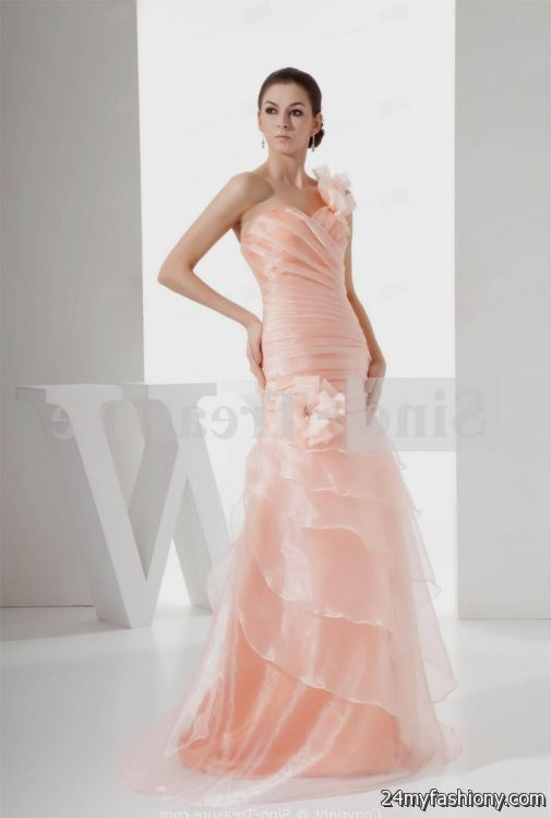 light pink prom dress sleeves 2016-2017 | B2B Fashion