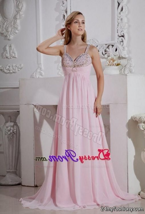 Light Pink Plus Size Prom Dresses - Discount Evening Dresses
