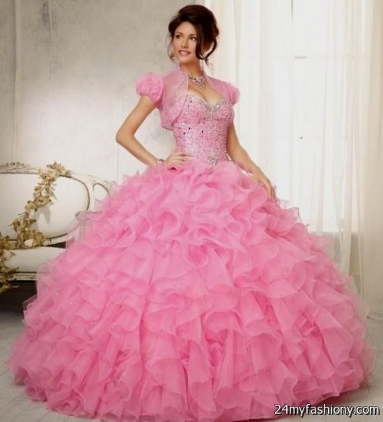 You can share th...Light Pink Puffy Quinceanera Dresses