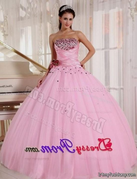 light pink puffy quinceanera dresses 2016-2017 | B2B Fashion