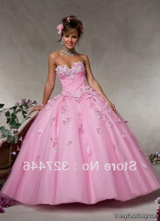 light pink puffy...Light Pink Puffy Quinceanera Dresses