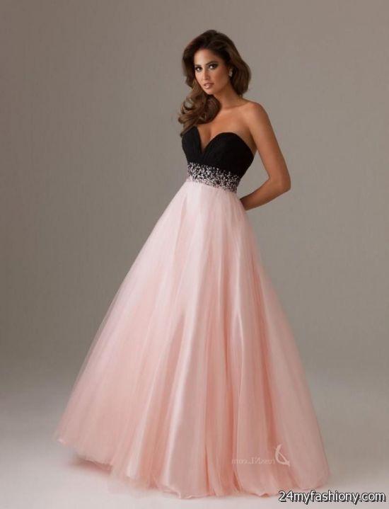 Light Pink Sparkly Prom Dresses 2016 2017 B2b Fashion