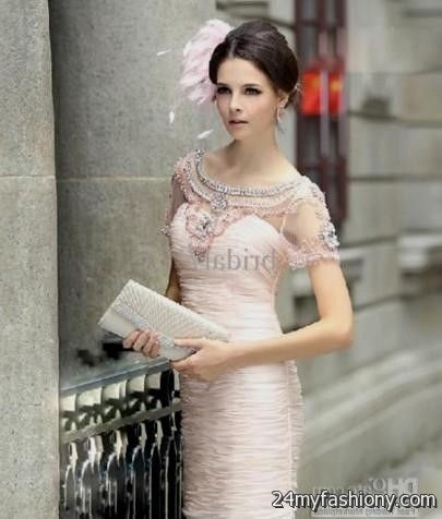 Light pink wedding dress with sleeves 2016 2017 b2b fashion customize your dress and stand out from the crowd look your best in these sexy prom dresses pin it like you can share these light pink wedding junglespirit Images