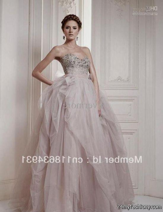 Light pink wedding dresses simple 2016 2017 b2b fashion for Simple pink wedding dress