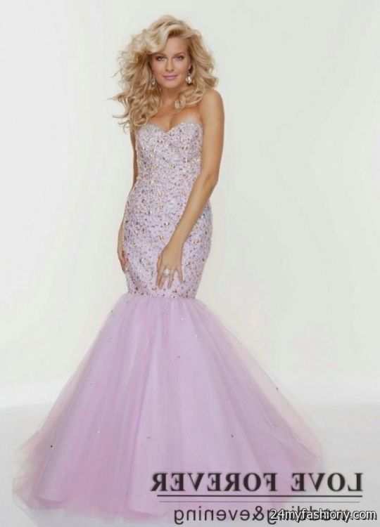 Light Purple Mermaid Prom Dresses Looks B2b Fashion