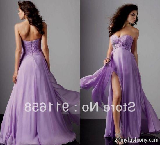 Images of Light Purple Prom Dresses - Lotki