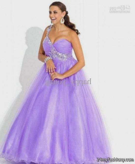 Long Light Purple Prom Dresses - Missy Dress